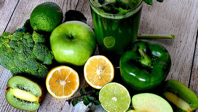 detox green veggies