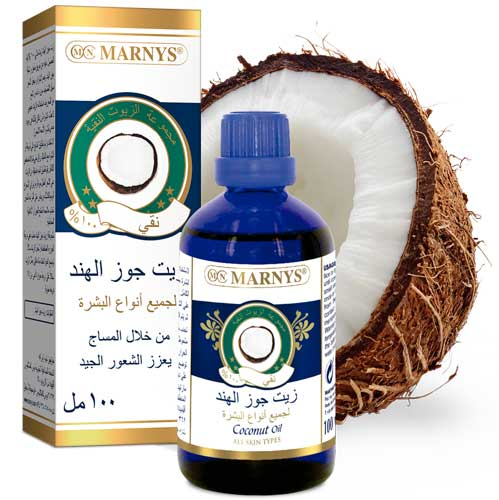 Coconut Oil Benefits MARNYS KSA