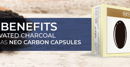 Activated Charcoal For Intestinal Gas Neo Carbon Capsules -