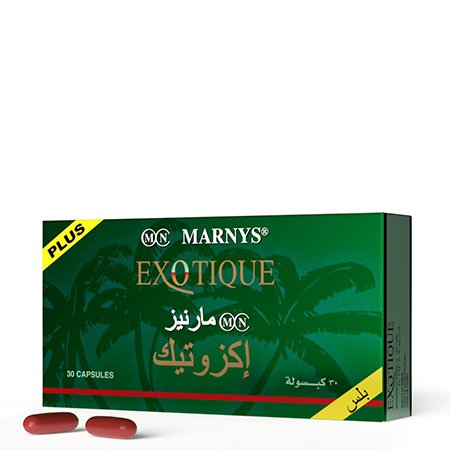 MN315SADS - EXOTIQUE PLUS 30 Capsules 100% Natural