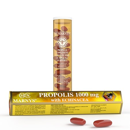 PROPOLIS 1000 MG Capsules WITH ECHINACEA